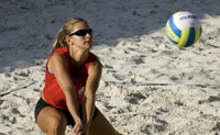Beachvolleyballerin