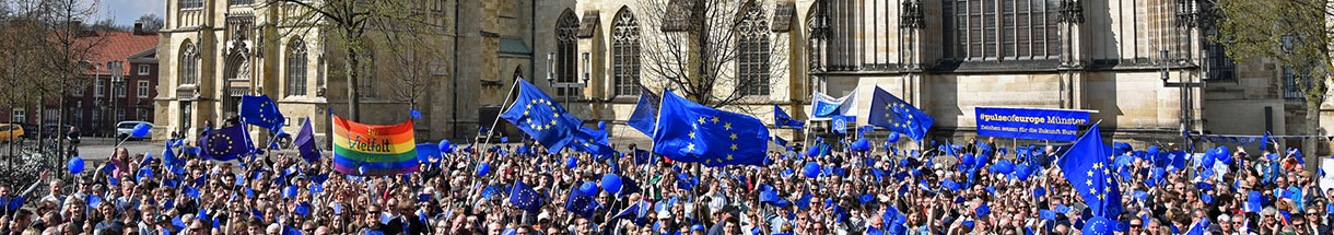 Pulse of Europe, Münster