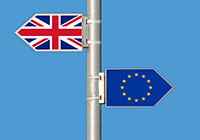 Contrary directions: Great Britain and EU