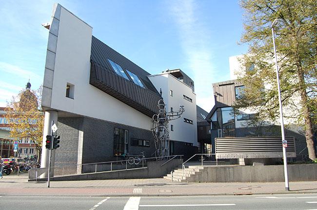 Münster Architekten stadt münster stadtbücherei über uns architektur kunst am bau