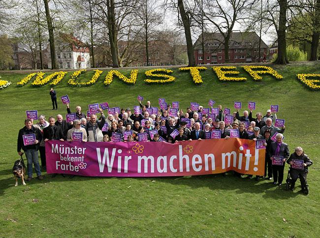 Stadt Münster: Farbe - Münster bekennt Farbe - auch im ...