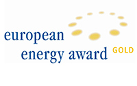 "Logo ""European Energy Award Gold"""