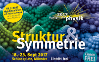 Plakat zu den Highlights der Physik