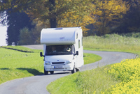 Travel with the motorhome
