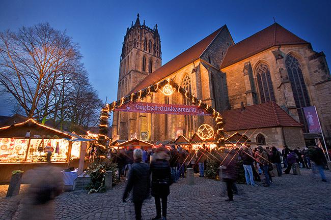 Münster Weihnachtsmarkt öffnungszeiten.Stadt Münster Weihnachtsmärkte 25 November Bis 23 Dezember 2019