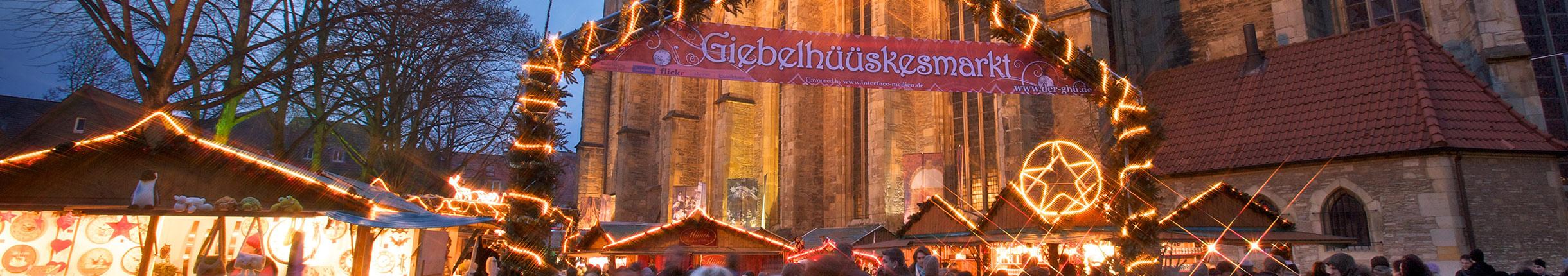 Weihnachtsmarkt Eröffnung 2019.Stadt Münster Weihnachtsmärkte 25 November Bis 23 Dezember 2019